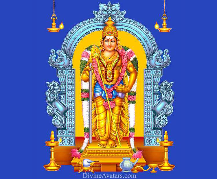 Lord Muruga Pathu Malai Hindu God Murugan Names Photos
